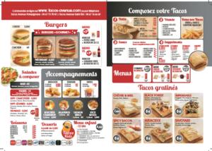 Otacos Carte 2019.Nouvelle Carte Tacos Avenue